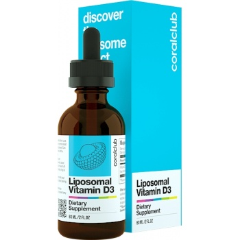 Liposomales Vitamin D3 (60 ml)